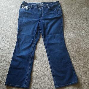 Apt 9 Boot Cut Jeans Size 18w